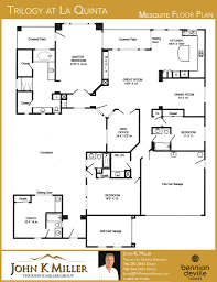 House Plans With Casitas by Trilogy At La Quinta Floor Plans John K Miller Group