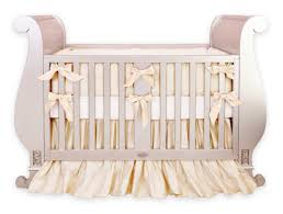 silk royal gold crib bedding set little crown interiors