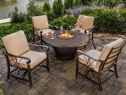 Patio Table With Firepit by Fire Pits Fire Pit Tables Fire Tables Fire Pit Sets Long
