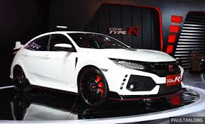 honda civic 2017 type r honda civic type r launched in indonesia rm320k