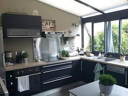 cuisine veranda cuisine dans veranda beautiful extension cuisine avec veranda images