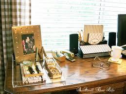 My Gold Desk A Stroll Thru Life How To Diy Acrylic Tray