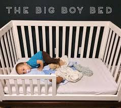 Transitioning Toddler From Crib To Bed Well This Happened Transitioning To A Toddler Bed From A Crib