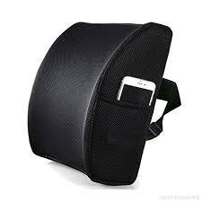 coussin ergonomique pour chaise de bureau livehitop memory foam coussin lombaire oreiller soutien demi lune