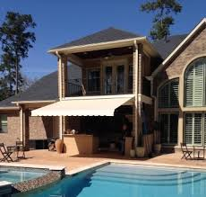 Oasis Awning Shade Works Of Texas Retractable Shades And Awnings