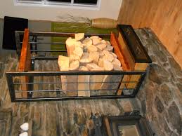 furniture fantastic firewood rack with stone fireplace mantel and