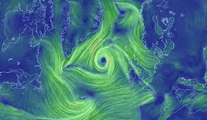 earth wind map mapping the beautiful winds