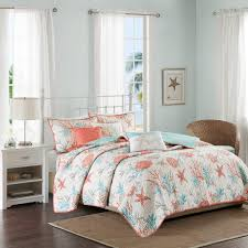 Cotton Quilted Bedspread Madison Park Pebble Beach 6 Piece Quilted Coverlet Set Ebay