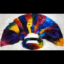 tie dye headbands wholesale tie dye elastic bandana headband
