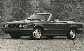 ford convertible 1983 ford mustang convertible u2013 review u2013 car and driver
