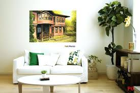 home murals painting alternatux com wall mural painting of an old house in plovdivwall murals ideas business