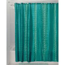 Blue Green Bathroom Ideas by Amazon Com Interdesign Moxi Fabric Shower Curtain 72