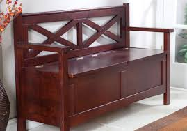 Osp Designs Bench Wood Storage Entryway Bench Lovable Daley Wood Storage