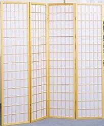 Ekne Room Divider Amazon Com Legacy Decor 4 Panel Natural Room Divider Shoji Screen