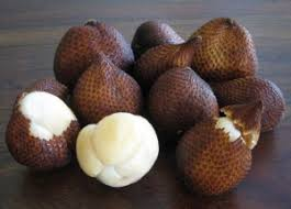 Snake Fruit Tree - salak is also known as snake fruit for its brown scaly skin
