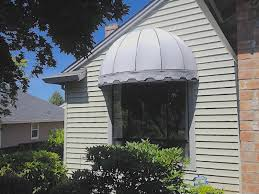 Dome Awning Stationary Residential Awnings Waagmeester Awnings U0026 Sun Shades