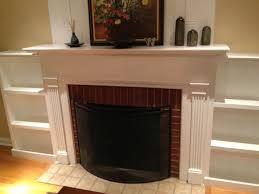 built in fireplace bookshelves home design ideas around plans