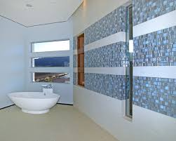 glass tile backsplash ideas bathroom sleek modern bathroom design glass tile backsplash smith residence