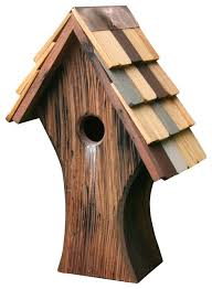 nottingham bird house rustic birdhouses by heartwood