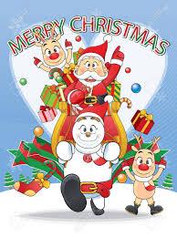 imagenes animadas de renos de navidad feliz navidad santa muñeco de nieve dibujos animados de renos