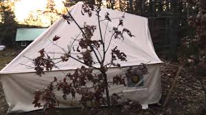 Wall Tent Platform Design by New Jack Mountain Expedition Tent Youtube
