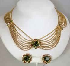 vintage necklace design images Signed vintage designer costume jewelry jeweldiva jpg