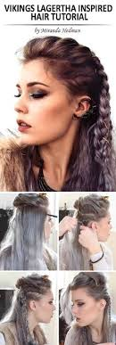 lagertha lothbrok hair braided 45 easy hairstyles for long thick hair lagertha lagertha hair and