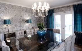 Gorgeous Wallpaper Ideas For Your Beautiful Dining Room - Gorgeous dining rooms