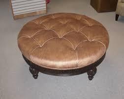round cocktail ottoman distinctive fabrics and furniture
