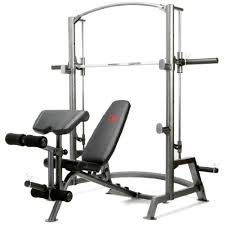 Marcy Adjustable Bench Marcy Sm 1050 Home Gym Smith Machine Weight Bench Of 600 Lbs
