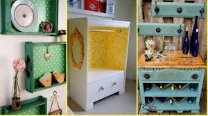 diy repurposed old drawers ideas recycled furniture home