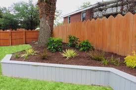 Landscape Ideas Backyard by Backyard Landscaping Ideas Retaining Walls Fleagorcom