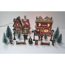 home accents holiday christmas villages sets christmas