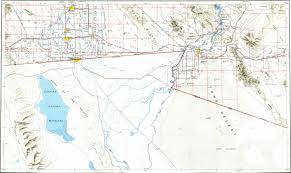 Mexicali Mexico Map by Download Topographic Map In Area Of Mexicali Yuma El Centro