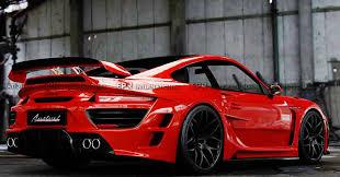 porsche 911 wide car styling for porsche 911 997 anibal frp fiber glass wide