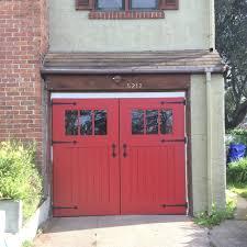 carriage style garage doors u2014 perspective design build