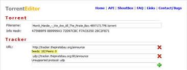 openbittorrent tracker muscles pirate bay torrentfreak