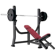 signature series olympic incline bench life fitness strength