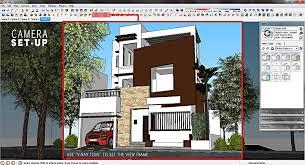 3 storey house of 3 storey house exterior sketchup 3d rendering
