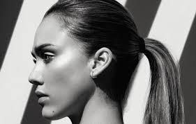 alba earrings wallpaper hair model earrings mole alba