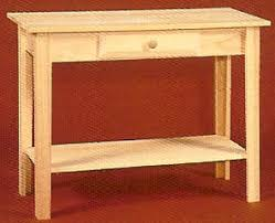 Unfinished Pine Nightstand Unfinished Pine Furniture With Punchd Tin Panels