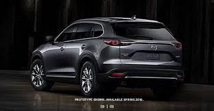 mazda suv models new 2016 mazda cx 9 suv this is it