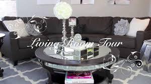 living room tour part 1 winter u0026 fall home decor
