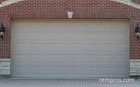 sectional 2 car garage door