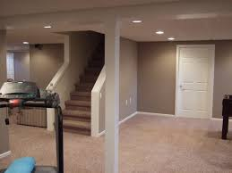 interior cool basement finishing ideas in living room