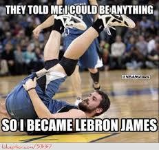 Kevin Love Meme - kevin love becoming lebron james http weheartnyknicks com nba