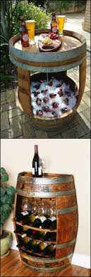 Wine Barrel Patio Table Build A Modern Picnic Table With Wine Barrels