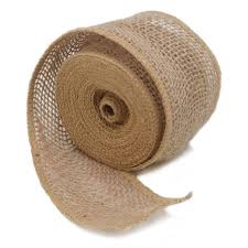 burlap ribbon 2 5 inch wired burlap ribbon 5 yards