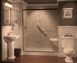 showers with seats built in tub to shower conversions