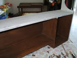 etagere pour vernis vieille étagère de lit chinée 5 euros en brocante et voila un